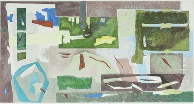 Giles Laroche, 'Industrial Ruins in a Landscape'