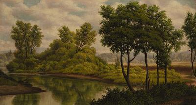 Levi Wells Prentice, 'River Landscape'
