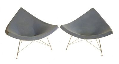 George Nelson, 'A pair of 'Coconut' chairs'