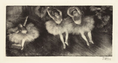 Edgar Degas, 'Three Ballet Dancers ', c. 1878-80