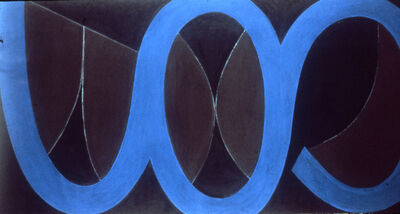 Fritz Bultman, 'Wave II 3 Blue ', 1969