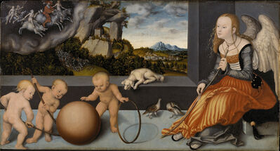 Lucas Cranach the Elder, 'Melancholy', 1532