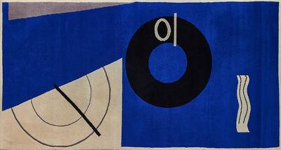 Eileen Gray, 'Blue Marine rug'