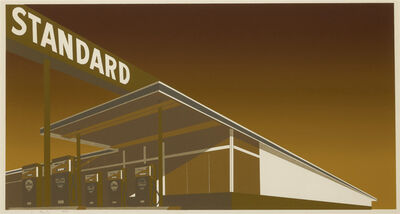 Ed Ruscha, 'Mocha Standard', 1969
