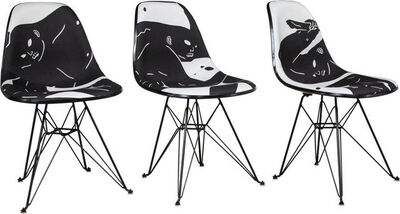 Cleon Peterson, 'Case Study Chairs, set of three', 2018