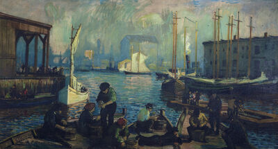 Arthur Clifton Goodwin, 'T  Warf', 1910