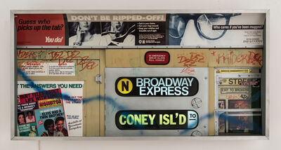 Alan Wolfson, 'Subway Series (#5)', 1993