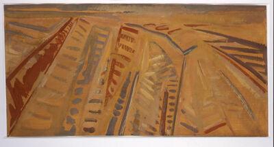 ARPAD SZENES, 'Les labours en Beauce', 1969
