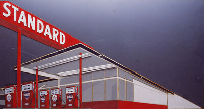 Vik Muniz, 'Standard Station, after Ed Ruscha', 2008