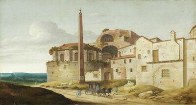 Pieter Jansz. Saenredam, 'Church of Santa Maria della Febbre, Rome', 1629
