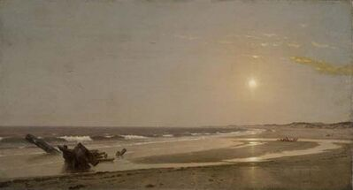 William Trost Richards, 'Seascape ', 1870