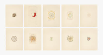 Damien Hirst, 'In a Spin, The Action of the World on Things, Volume I (ten works)', 2002
