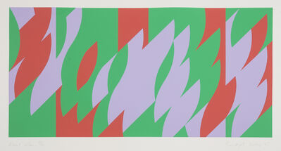 Bridget Riley, 'About Lilac', 2007