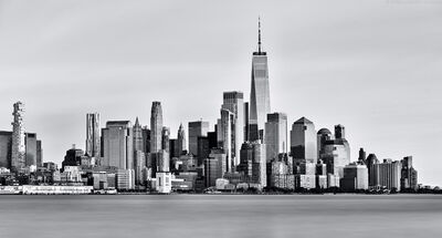 Andrew Prokos, 'World Trade Center and Manhattan Skyline - Long Exposure', 2020