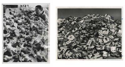 Murray Moss, 'TQ 41/42: A Part of Christmas/Cigarette Packs', 1954/1971