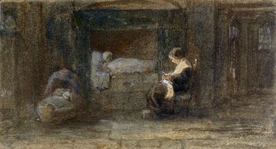 Jozef Israëls, 'The Sick Room', ca. 1895