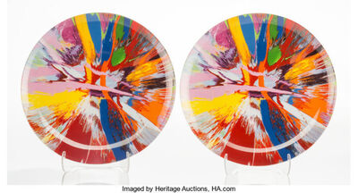 After Damien Hirst, 'The Broad P1, set of 2', c. 2009