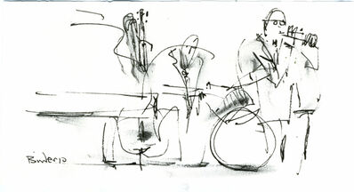 Gordon Binder, 'Jazz Combo Sanibel', 2010