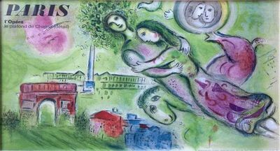 Marc Chagall, 'Paris L'Opera, Romeo and Juliet', 1964