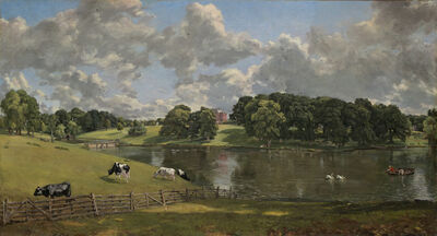 John Constable, 'Wivenhoe Park, Essex', 1816