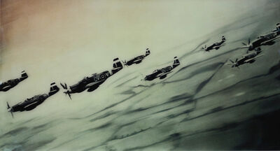 Gerhard Richter, 'Mustang-Staffel (Mustang Squadron)', 2005