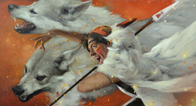 Jennifer Gennari, 'The Fight (Princess Mononoke)', 2019