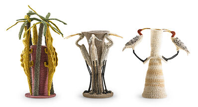 Carol Eckert, 'Three adjustable sculptures with birds and alligators, USA', 1990s