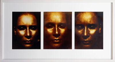 Katharina Sieverding, 'Goldene Trilogie', 1972