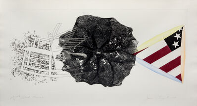James Rosenquist, 'Black Triangle; Wind and Lightning (a pair of works from the Tripartite series)', 1978