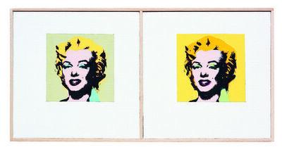 Richard Pettibone, 'Andy Warhol, 'Marilyn Diptych'', 1962, 1973, 2001