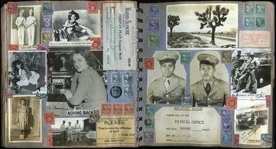 Richard Hicks Bowman, 'Untitled [Military Stamp Scrapbook Album]', 1943-1959