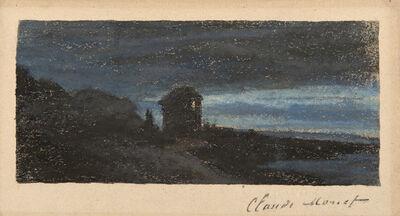 Claude Monet, 'Yport la nuit', ca. 1883