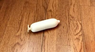Puppies Puppies, 'Condom Filled with SPF 15', 2016