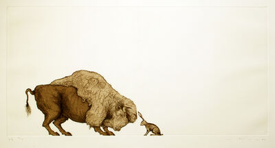 Mel Chin, 'Self-Portrait (Bison and Hare)', 1996