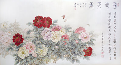 ZHENG XiLin, 'Peony Paradise 國色天香 ', 2017