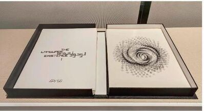 Lulwah Al Homoud, 'The language of existence Limited edition book with 50 different artworks', 2018