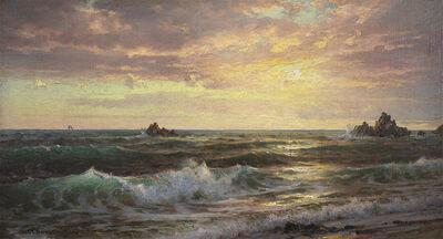 William Trost Richards, 'Near Newport', 1898