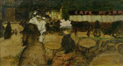 Pierre Bonnard, 'Toulouse-Lautrec au café', 1897
