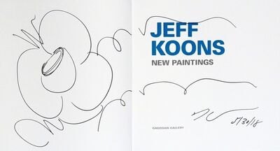 Jeff Koons, 'Original Flower Drawing', 2018