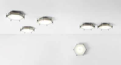 Angelo Lelii, 'Set of six rare ceiling lights, model no. 12712', circa 1958