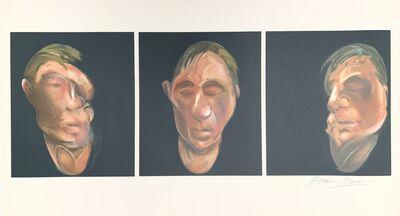 Francis Bacon, 'Trois études pour un autoportrait', 1990