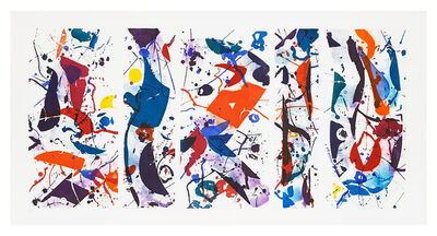 Sam Francis, 'The Five Continents in Summertime (SFE 020)', 1984