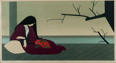 Will Barnet, 'Madame Butterfly', 1980