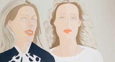 Alex Katz, 'Julia and Alexandra', 1983
