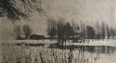 P. H. Emerson, 'Bleak Winter', 1895