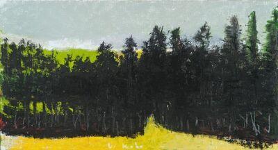Wolf Kahn, 'Path into Narrow Woods', 2018