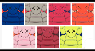 KAWS, 'What Party (Full Set of 7)', 2020
