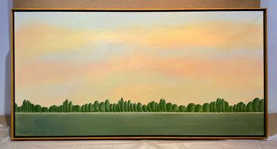 Terence Netter, 'Sunset on the River Cher', 2015
