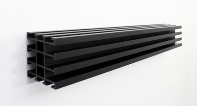 Donald Judd, 'Untitled (Black)', 1991