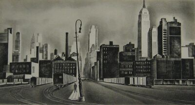 Howard N. Cook, 'West Side, New York', 1931